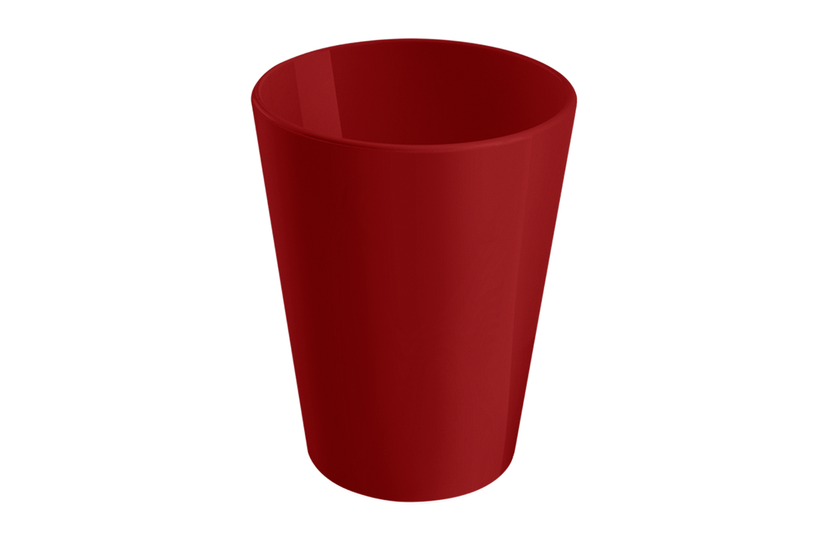 Copo Casual 200ml Vermelho Bold Coza