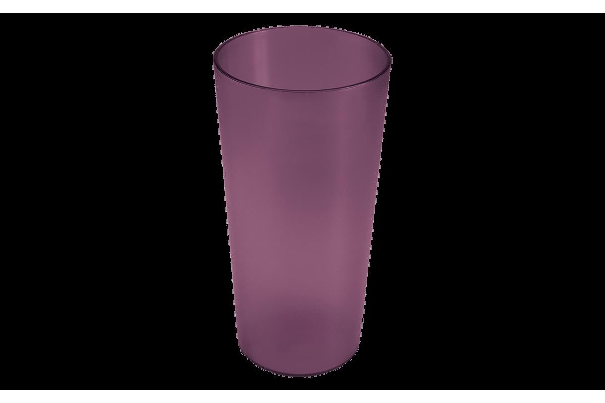 Copo Casual 500ml 8,2 X 8,2 X 16,2 Cm Roxo Púrpura Coza