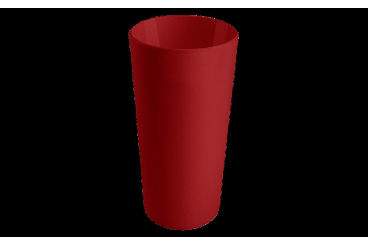 Copo Casual 500ml Vermelho Bold Coza