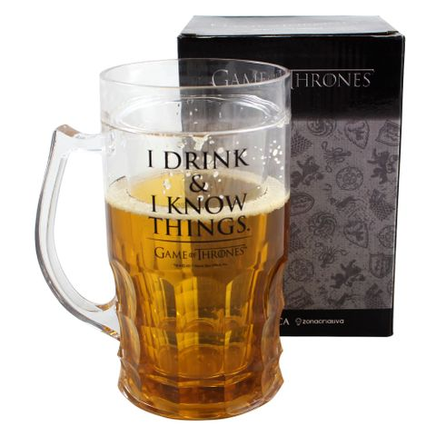 Copo Chopp I Drink & I Know Things