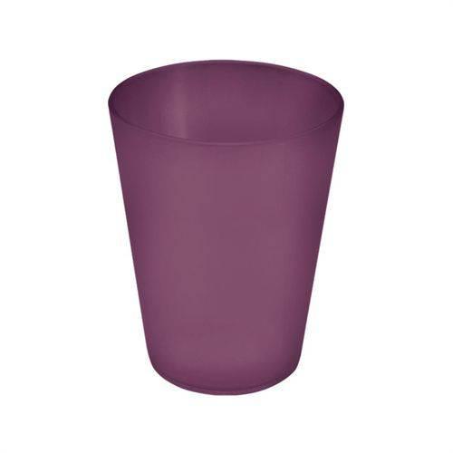 Copo Cônico Casual Roxo Púrpura 300ml Coza