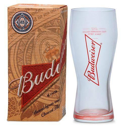 Copo de Cerveja Budweiser Chopp 400ml - Caixa Individual