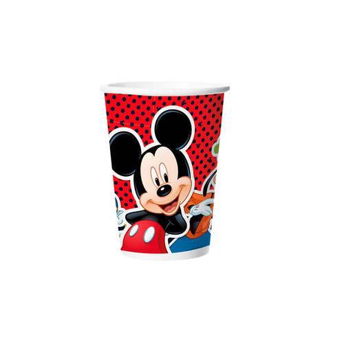 Copo de Papel 180ml Mickey Clássico 8 Unidades