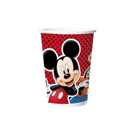 Copo de Papel Descartável Mickey Clássico - 08 Unidades