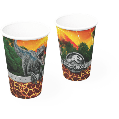 Copo de Papel Jurassic World 200ml 8un Festcolor
