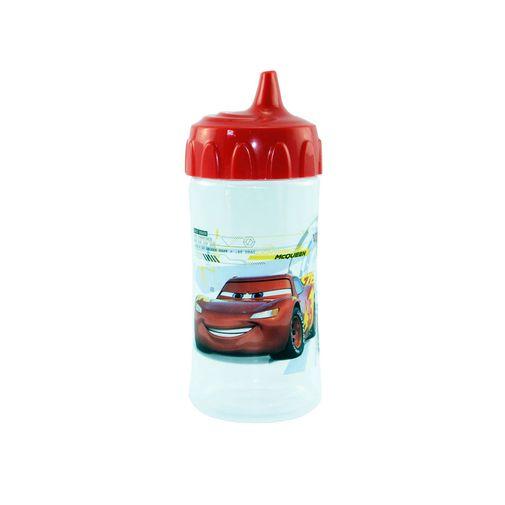 Copo de Treinamento com Bico Redutor 240ml - Carros - BabyGo