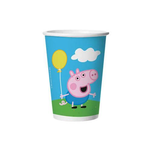 Copo Descartável Festa Peppa Pig | 180ml