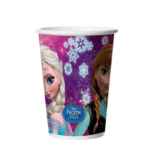 Copo Descartável Frozen 330ml C/ 8 Unid.