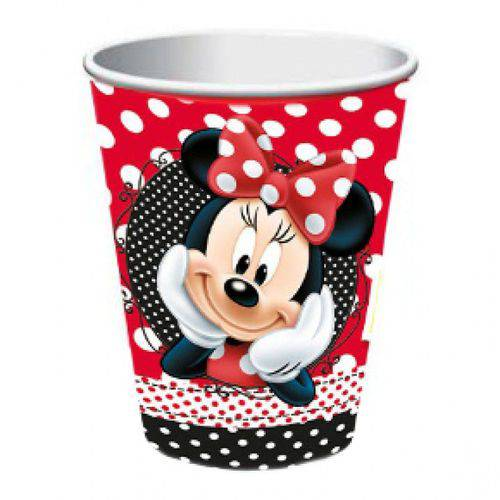 Copo Descartável Minnie Mouse