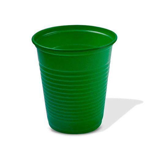 Copo Descartável Verde Escuro 200ml C/50 - Trik Trik