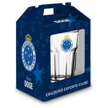 Copo Dose Bristol Emb Individual - Cruzeiro