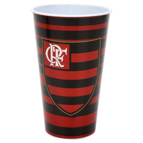 Copo Flamengo Plástico 550 ML UN