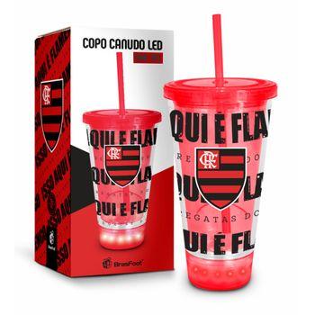 Copo Led Canudo - Flamengo