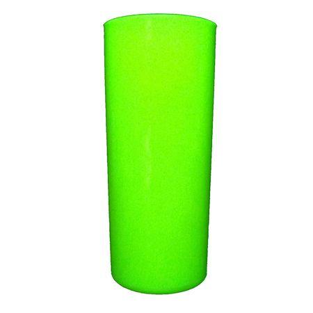 Copo Long Drink Verde Neon 360ml