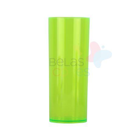 Copo Long Drink Verde Transparente 350 Ml - 5 Unidades