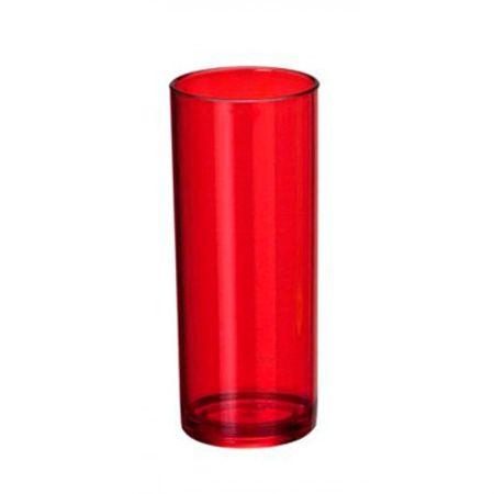 Copo Long Drink Vermelho 360ml