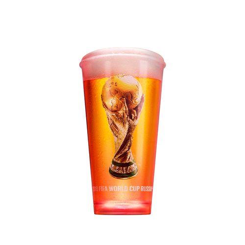 Copo Oficial Budweiser para Copa do Mundo FIFA Copo Budweiser Plástico (Luminoso)
