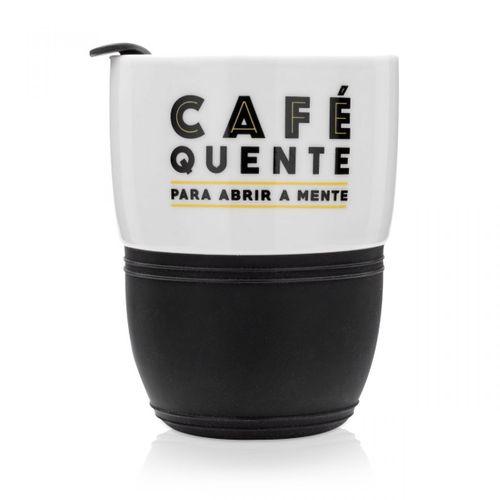 Copo para Viagem com Cinta Cafe Quente - Li1049