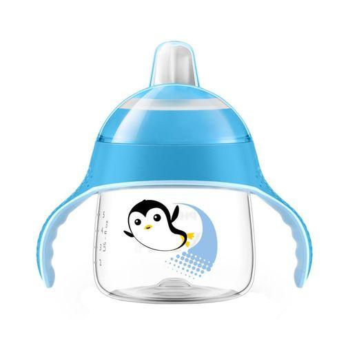 Copo Pinguim Azul - BPA Free - 200ml - Philips Avent