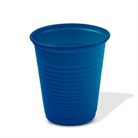 Copo Plástico Azul Escuro 200ml Copo Plástico Descartável Azul Escuro 200ml - 50 Unidades