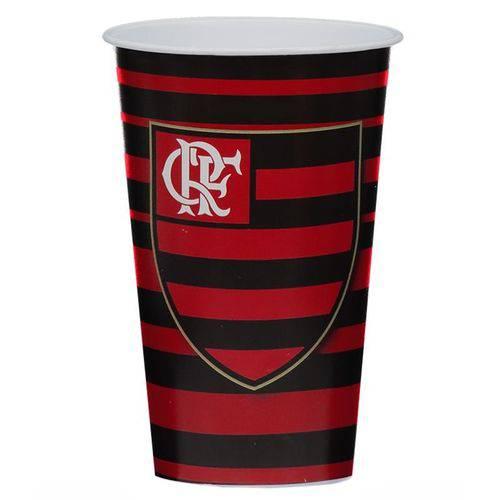 Copo Plástico Flamengo 550ml