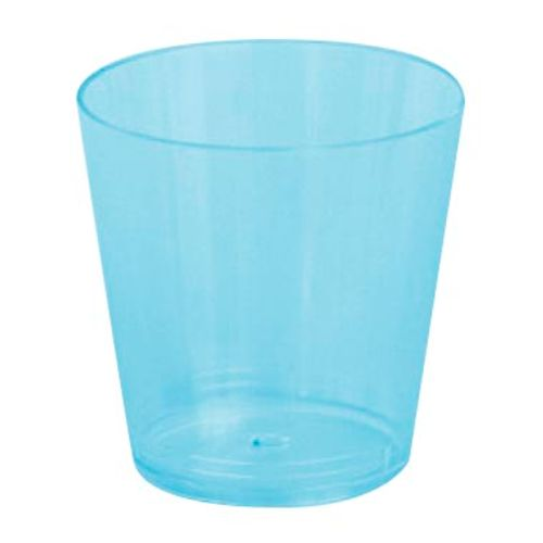 Copo Plástico Reforçado Plastilânia 25ml Azul - 10 Unidades 300018