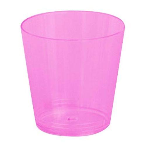 Copo Plástico Reforçado Plastilânia 25ml Lilás - 10 Unidades 1012206