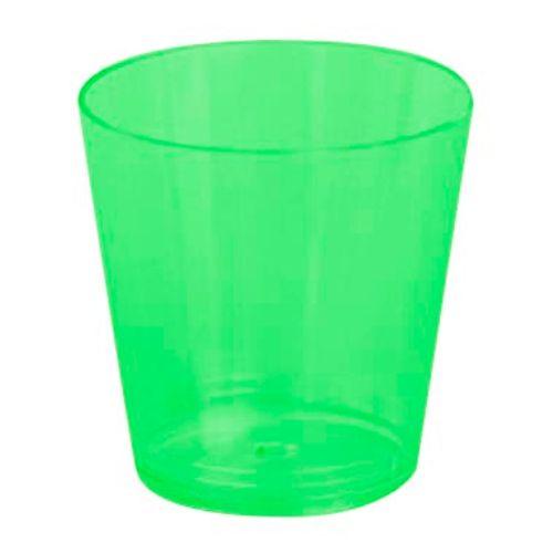 Copo Plástico Reforçado Plastilânia 25ml Verde Escuro - 10 Unidades 1012203