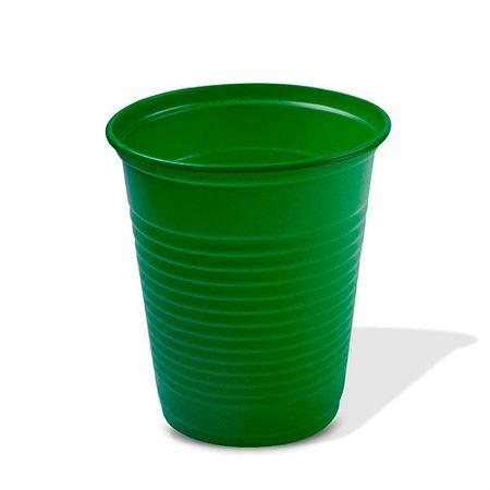Copo Plástico Verde Escuro 200ml Copo Plástico Descartável Verde Escuro 200ml - 50 Unidades