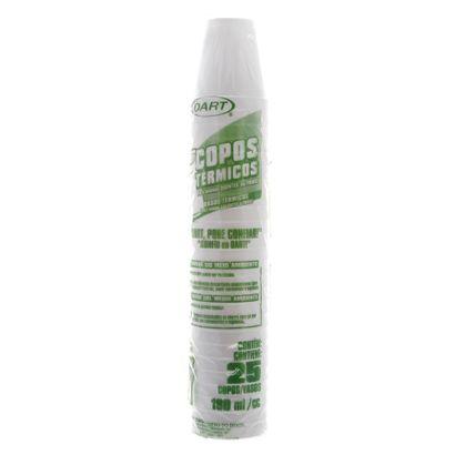 Copo Térmico EPS de 180ml C/ 25 Un Dart