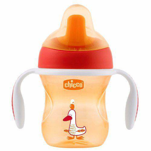 Copo Training Cup Laranja 200ml +6m Chicco