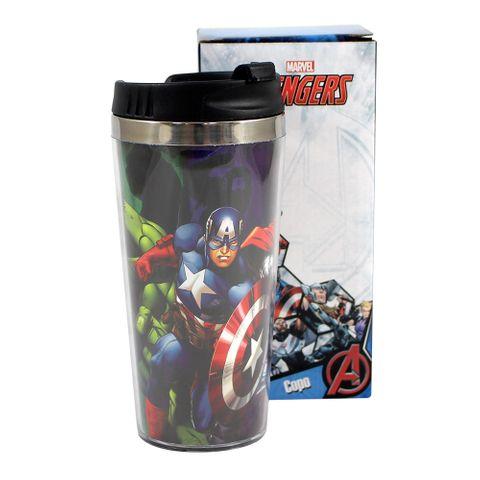 Copo Viagem Avengers Unica