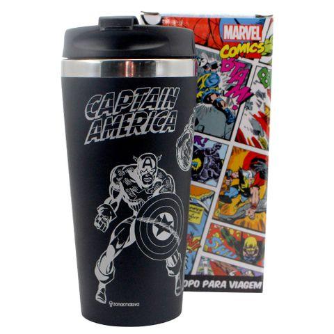 Copo Viagem Marvel Comics