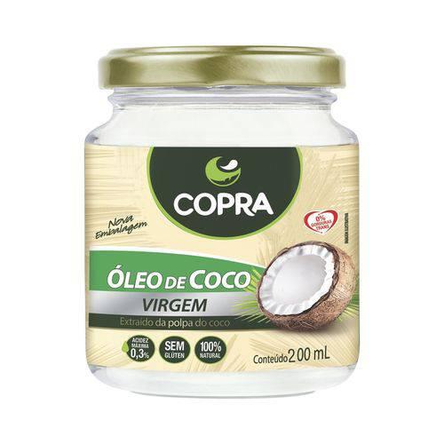 Óleo de Coco Copra 200ml- Virgem