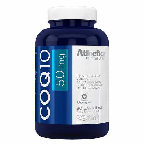 CoQ10 50mg (90 Caps) Atlhetica Clinical Series