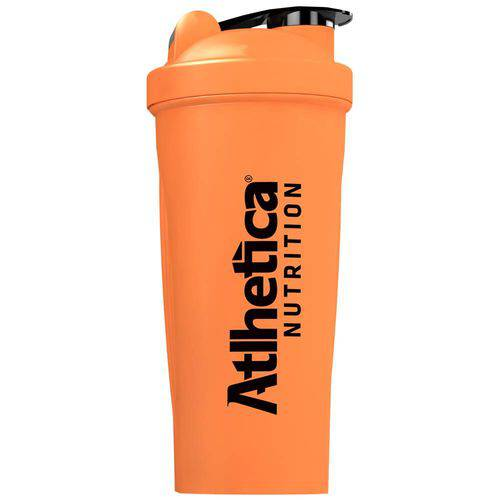 Coqueteleira Blender W/ Ball Neon com Mola 600 Ml Laranja Atlhetica Nutrition