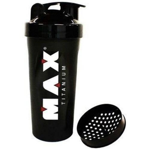 Coqueteleira Fumê (600ml) - Max Titanium