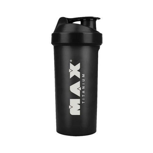 Coqueteleira Max Titanium 700ml - Preta