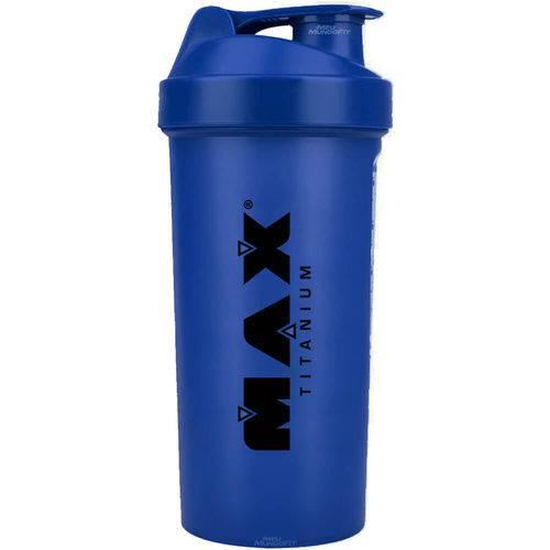 Coqueteleira Shaker - Azul - 600 Ml - Max Titanium