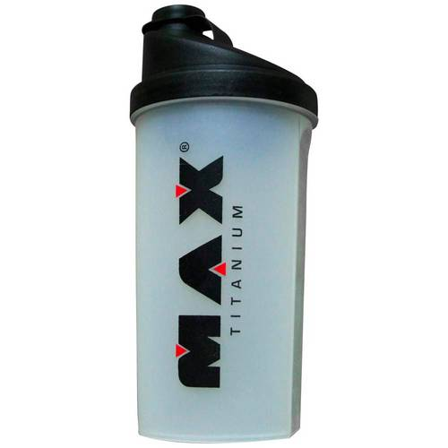 Coqueteleira Shaker - Preto - 700 Ml - Max Titanium