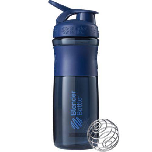 Coqueteleira Sportmixer 830ml Marinho - Blender Bottle