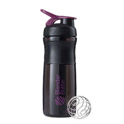 Coqueteleira Sportmixer 830ml Preto/Roxo - Blender Bottle