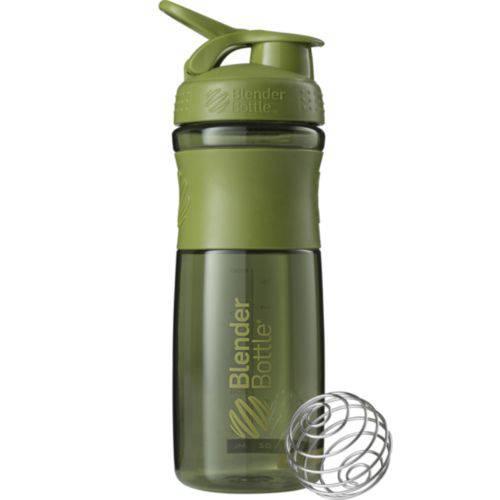 Coqueteleira Sportmixer 830ml Verde Militar - Blender Bottle