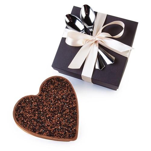Coração de Bolo Bake a Wish - Meio Amargo