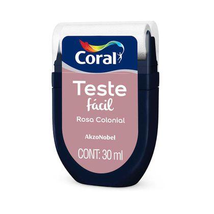 Coral Teste Fácil 30 Ml Rosa Colonial