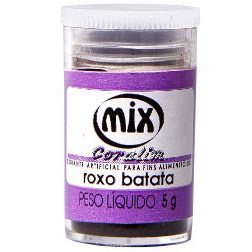 Corante em Pó Roxo Batata 5g - Mix