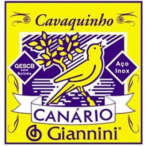 Corda Avulsa para Cavaco Giannini 2ª Canário Gescb2