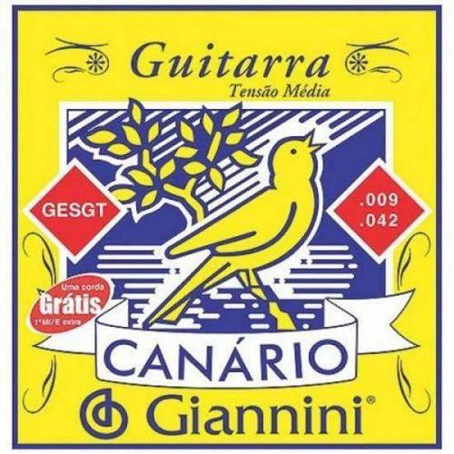 Corda de Aço Canário GEEGST9.3 para Guitarra com Bolinha 3