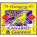 Corda de Aco Canario Geegst9.3 para Guitarra com Bolinha 3a Corda Giannini