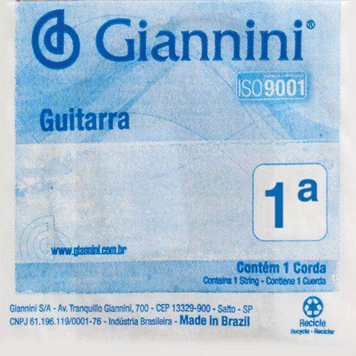 Corda Guitarra Super Light Geegst9.1 Giannini